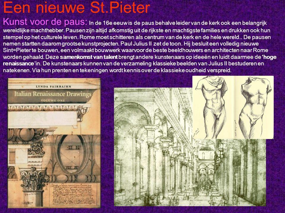 Een nieuwe St.Pieter: Bramante Ontwerpen en bouwen: Het Tempietto van Donato Bramante is het renaissance-ideaal.