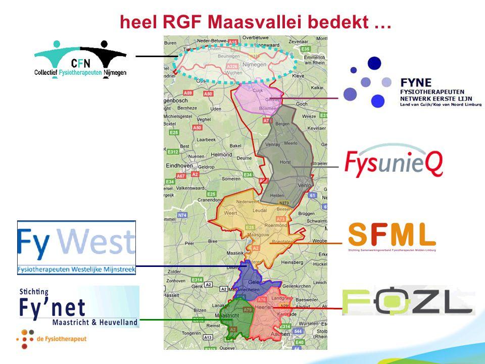 heel RGF Maasvallei bedekt …