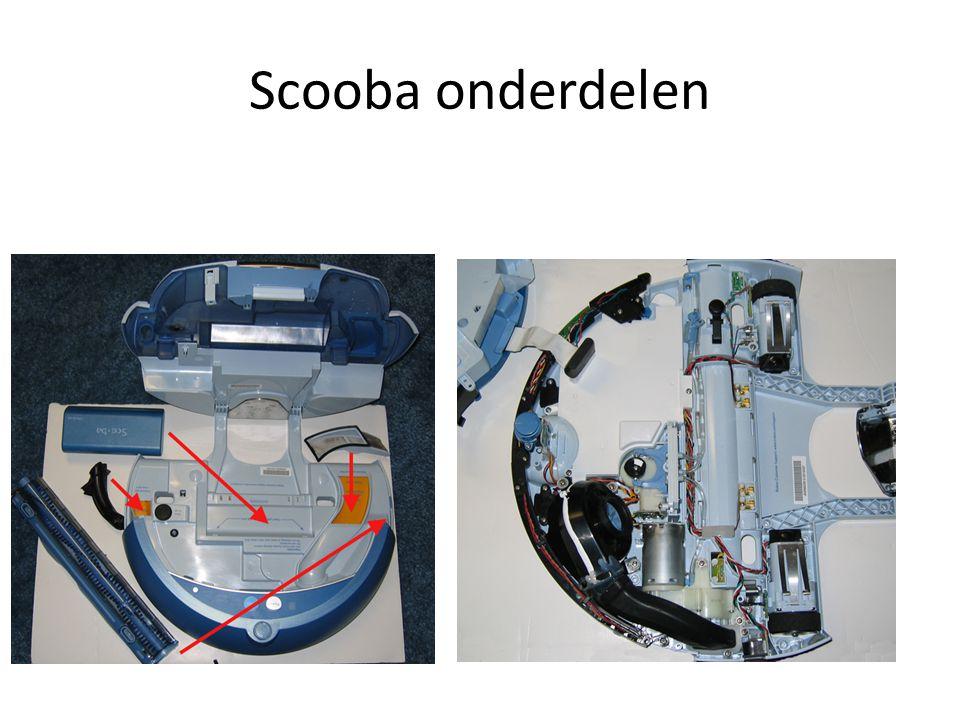 Scooba onderdelen