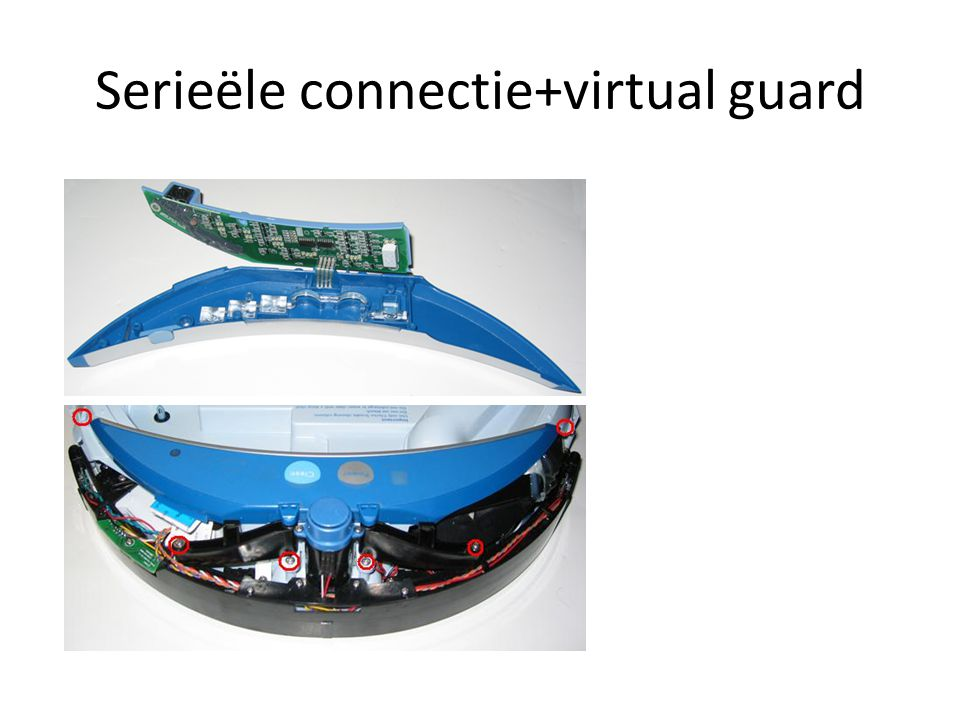 Serieële connectie+virtual guard