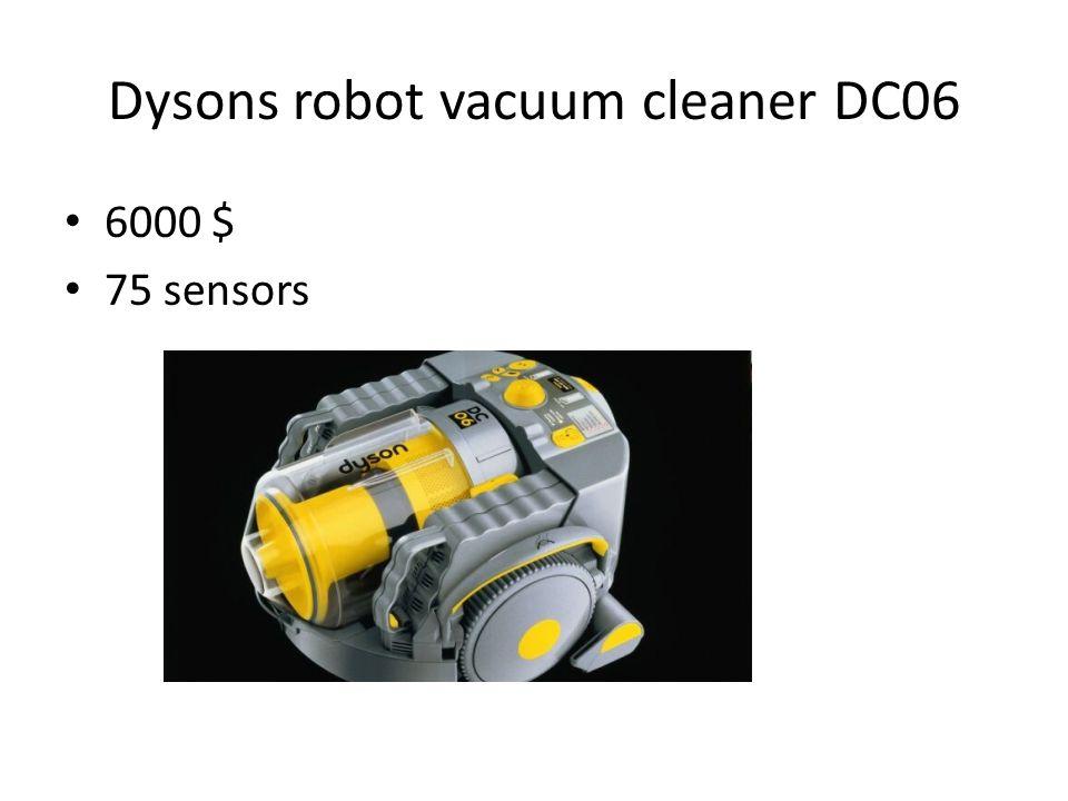 Dysons robot vacuum cleaner DC06 6000 $ 75 sensors
