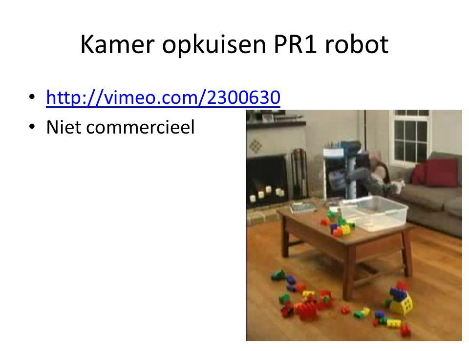 Kamer opkuisen PR1 robot http://vimeo.com/2300630 Niet commercieel
