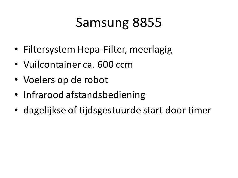 Samsung 8855 Filtersystem Hepa-Filter, meerlagig Vuilcontainer ca.