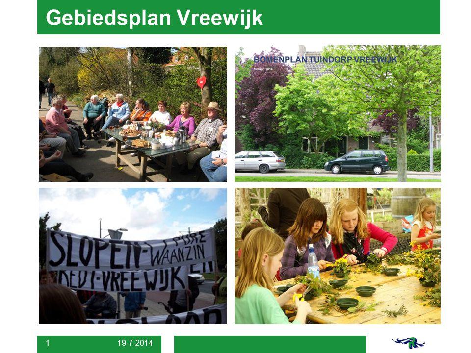 19-7-2014 1 Gebiedsplan Vreewijk