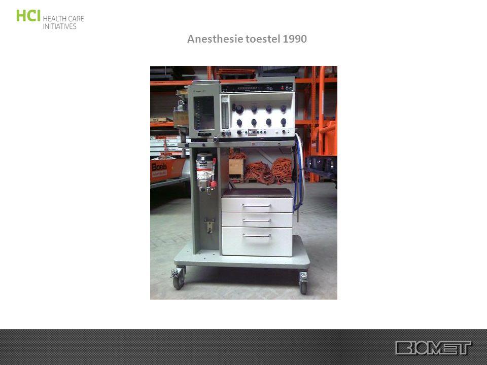 Anesthesie toestel 1990