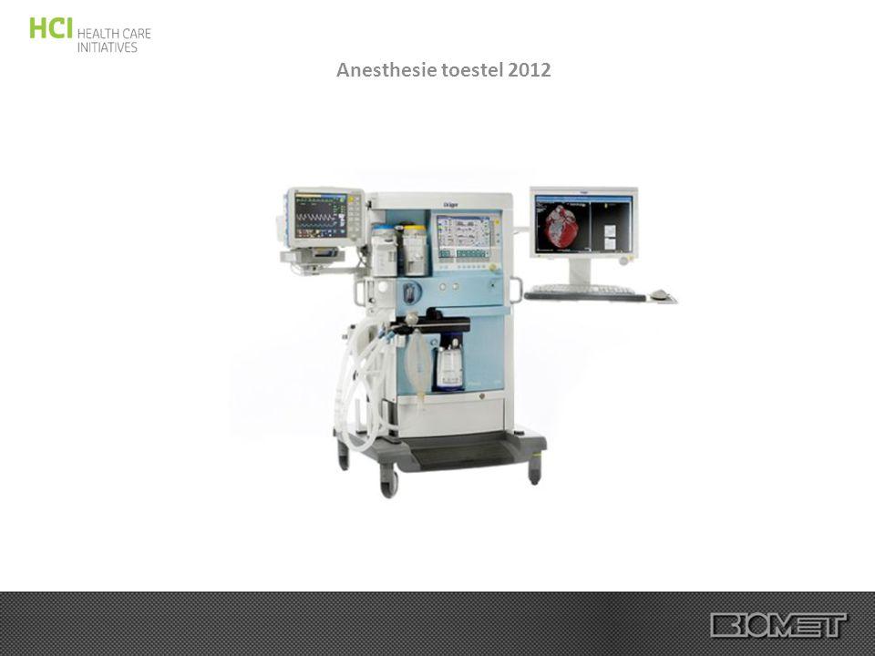 Anesthesie toestel 2012
