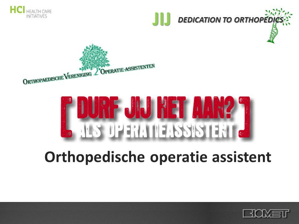 JIJ Orthopedische operatie assistent