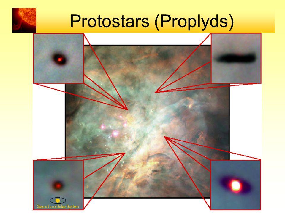 Protostars (Proplyds)