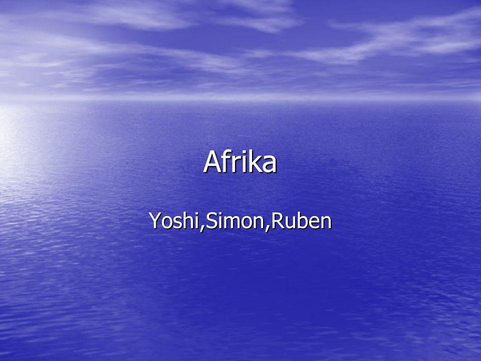 Afrika Yoshi,Simon,Ruben