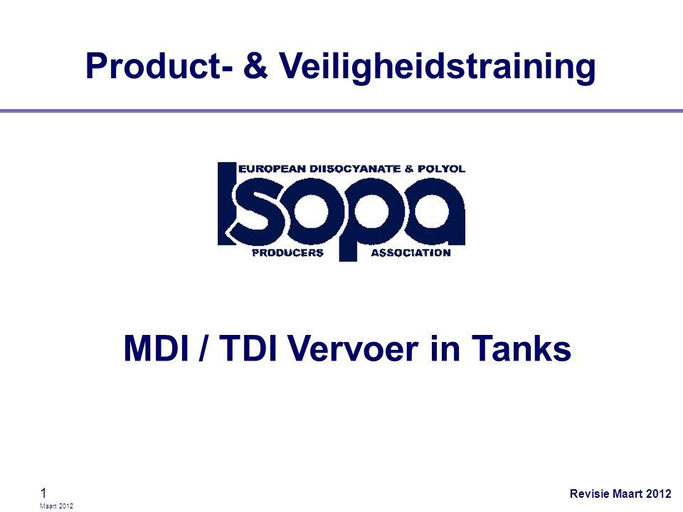 Maart 2012 2 Chauffeurstraining MDI / TDI Bedrijf [naam] Plaats [locatie] Datum 19-7-2014 Trainer [naam]
