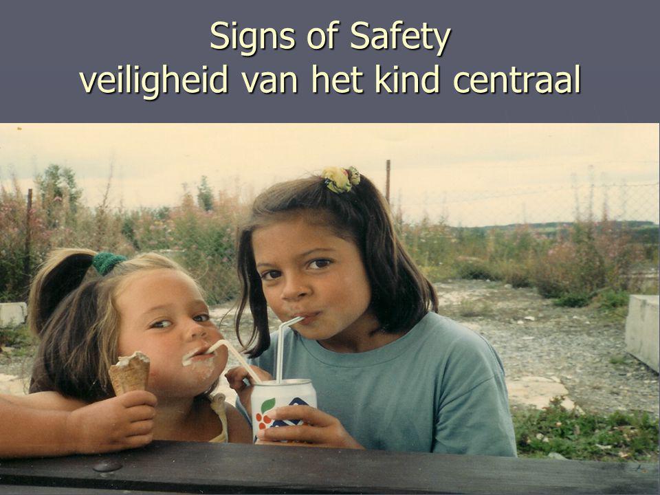 Signs of Safety veiligheid van het kind centraal