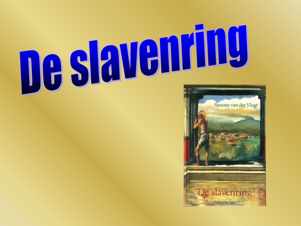 Titel  Slavenring: symbolische waarde belet hem om weg te vluchten na losmaken: vrij man