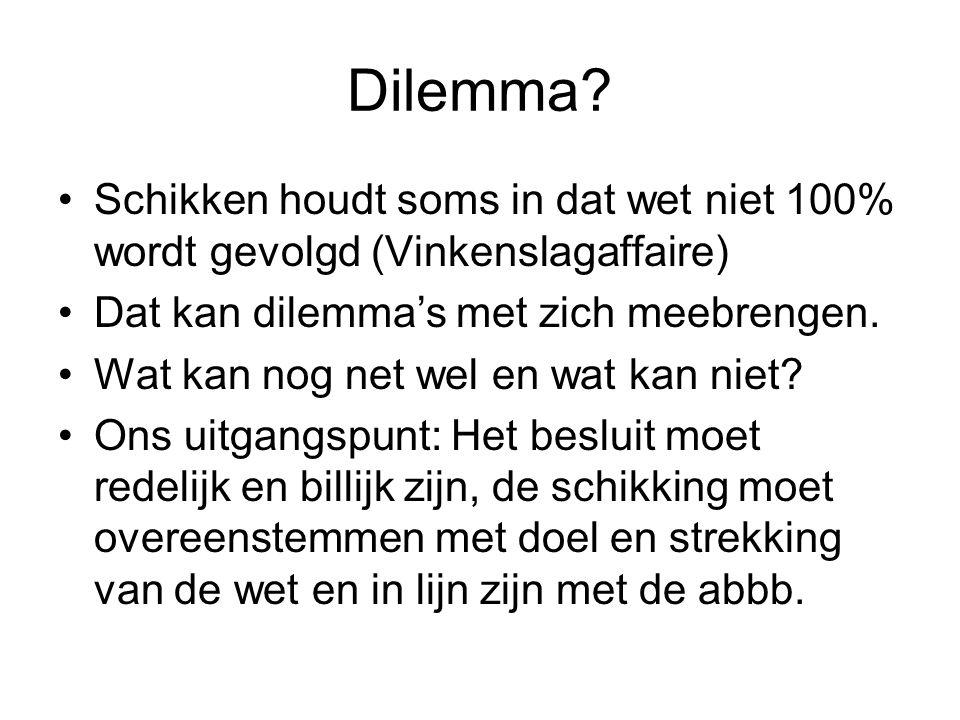 Dilemma.