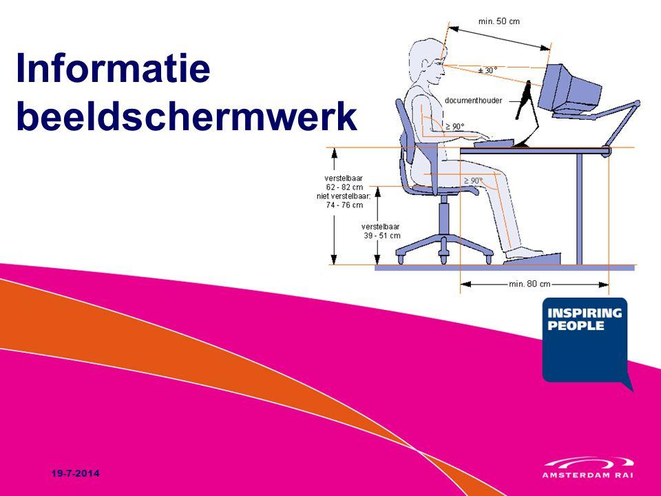 Informatie beeldschermwerk 19-7-2014