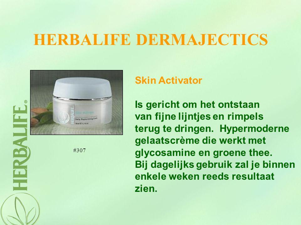 HERBALIFE DERMAJECTICS Skin Activator Is gericht om het ontstaan van fijne lijntjes en rimpels terug te dringen. Hypermoderne gelaatscrème die werkt m