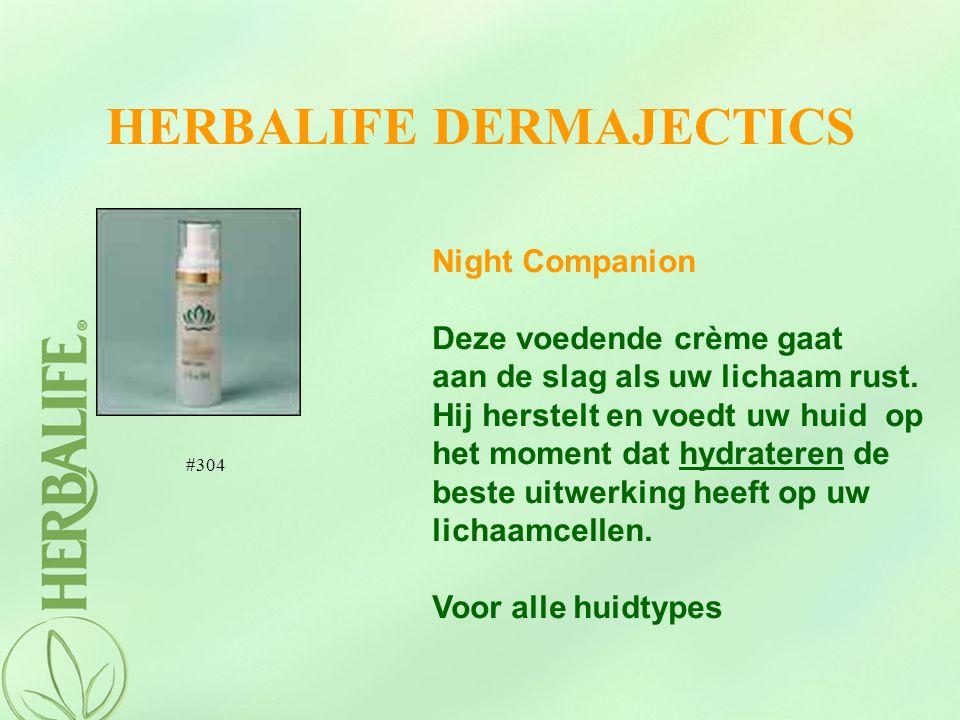 HERBALIFE DERMAJECTICS Night Companion Deze voedende crème gaat aan de slag als uw lichaam rust. Hij herstelt en voedt uw huid op het moment dat hydra