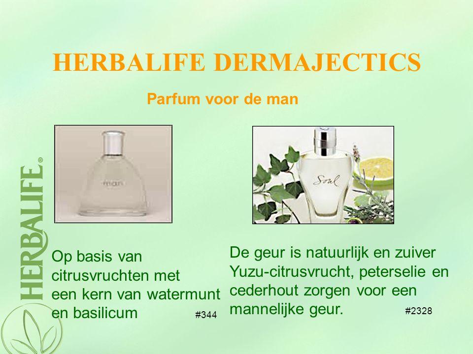 HERBALIFE DERMAJECTICS Parfum voor de man Op basis van citrusvruchten met een kern van watermunt en basilicum #344 De geur is natuurlijk en zuiver Yuz