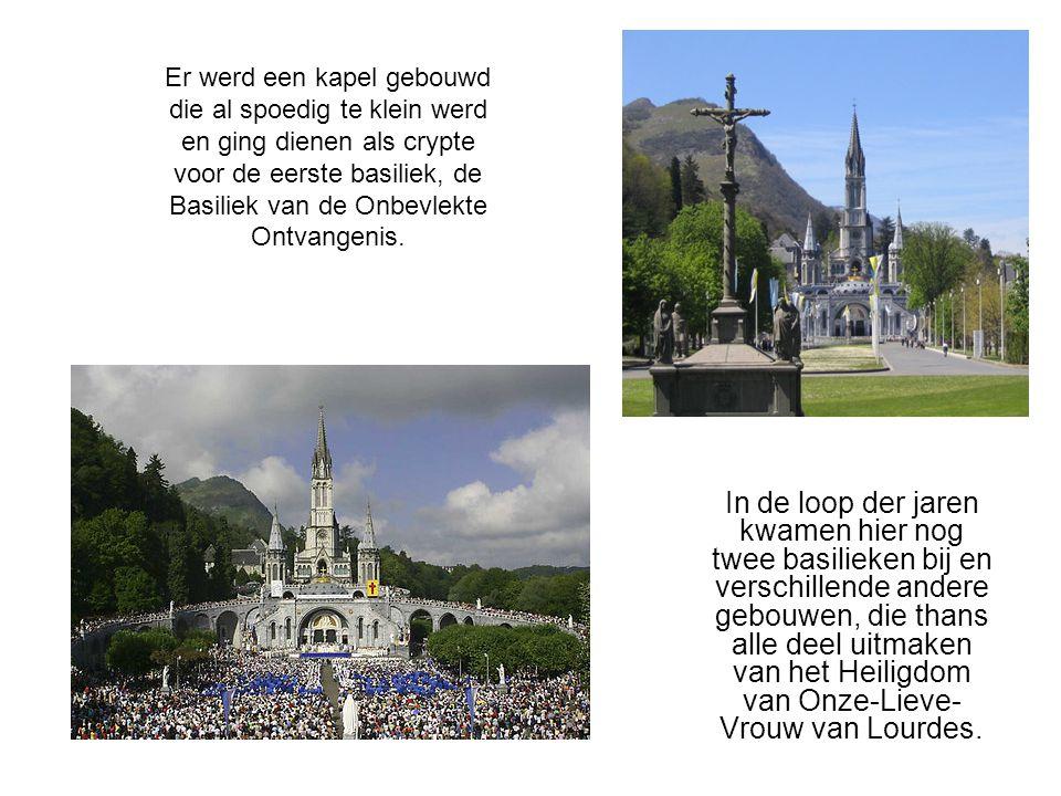 In de loop der jaren kwamen hier nog twee basilieken bij en verschillende andere gebouwen, die thans alle deel uitmaken van het Heiligdom van Onze-Lie