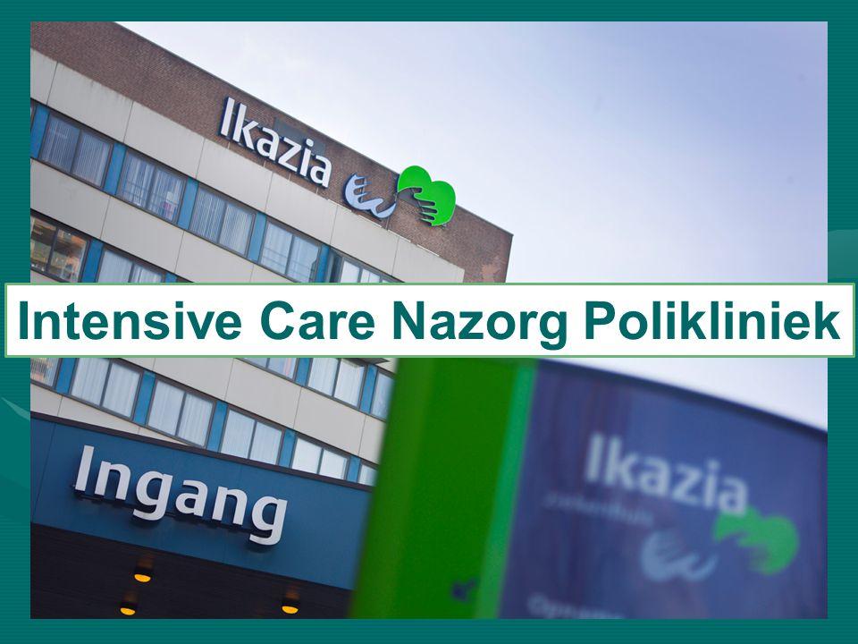 Nazorg voor de ex- intensive care patiënt Intensive Care Nazorg Polikliniek