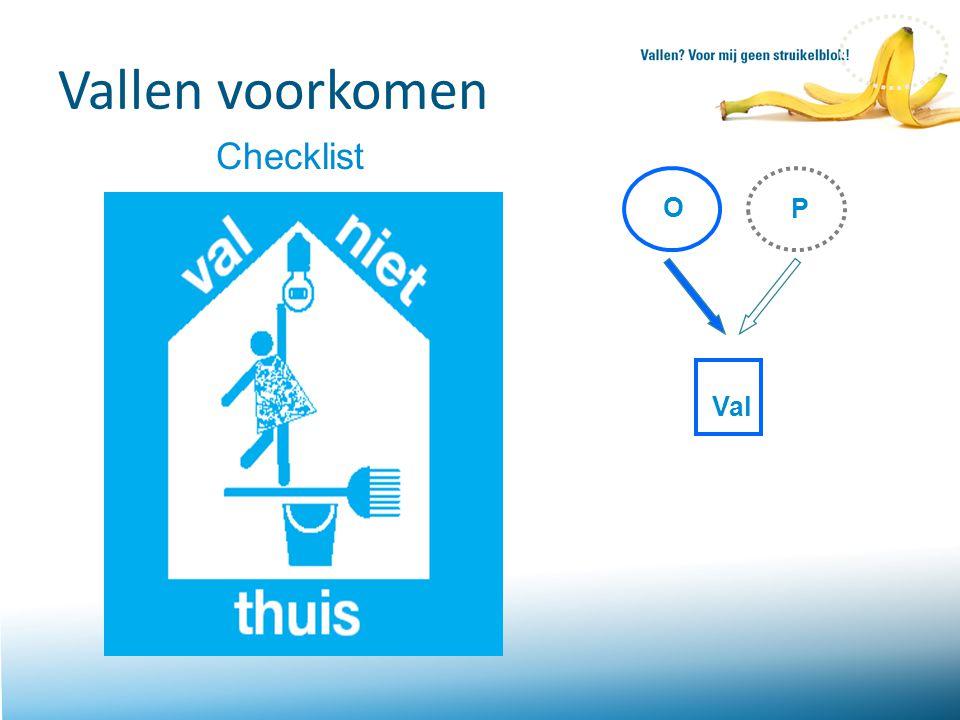 Vallen voorkomen Checklist P O Val
