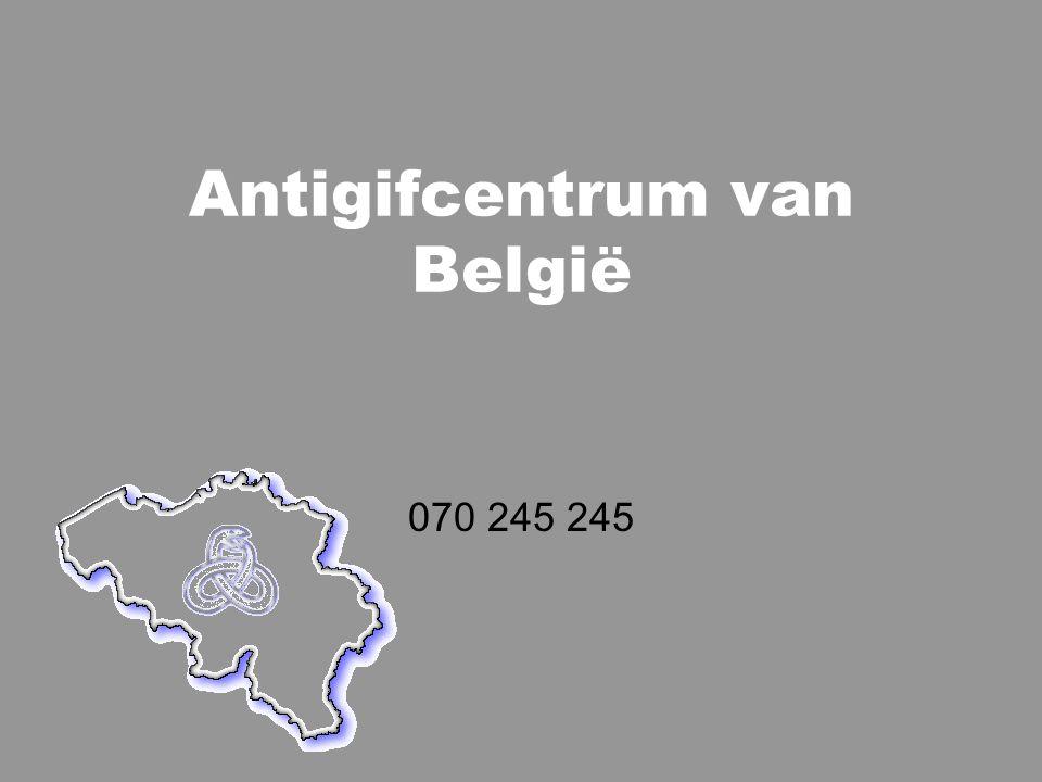 Antigifcentrum van België 070 245 245