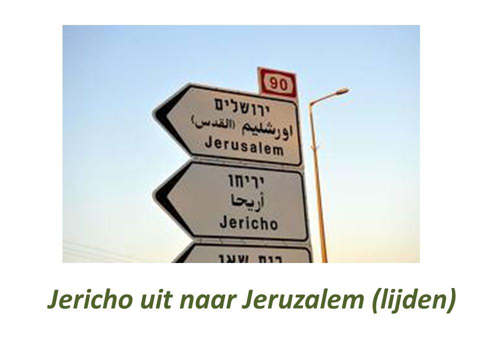 De Heer ontmoet meer blinden in Jericho, op weg naar Jeruzalem): * een blinde (Marcus 10) * twee blinden (Mattheüs 20) * Bartimeüs (Lucas 18) …maar ook Zacheüs (Lucas 19)