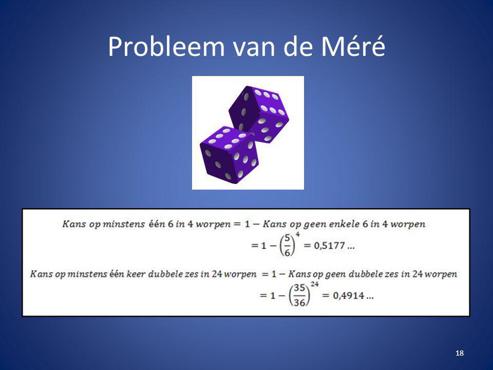 Probleem van de Méré 18