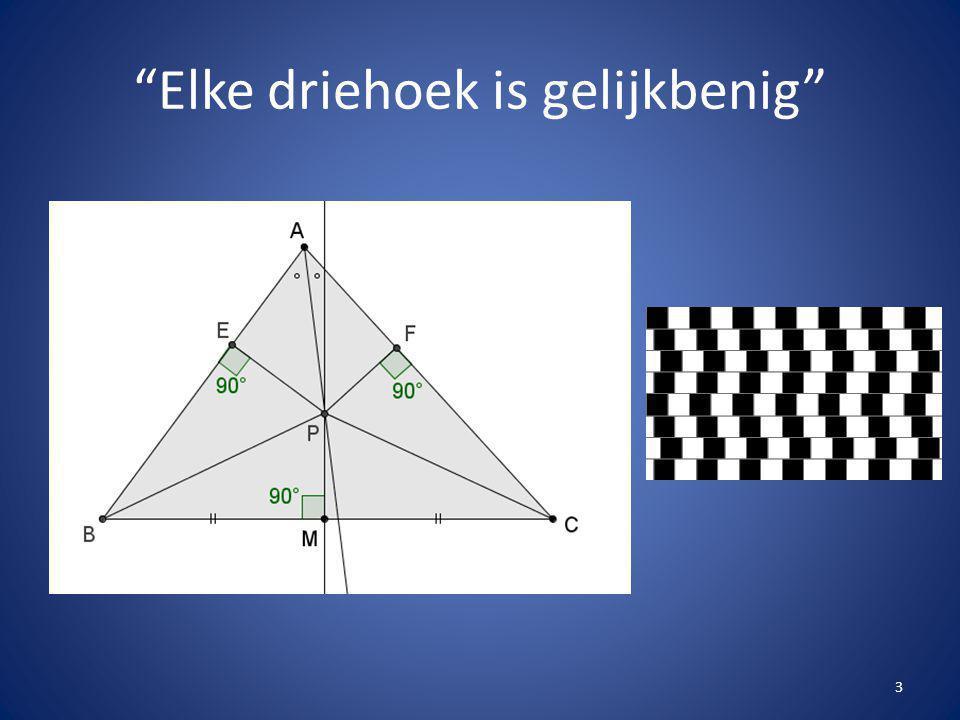 """""""Elke driehoek is gelijkbenig"""" 3"""