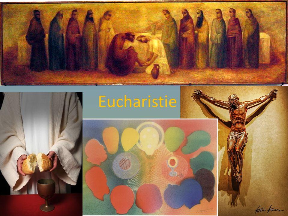 Eucharistie = Doe DIT om Mij te gedenken BROODWIJN
