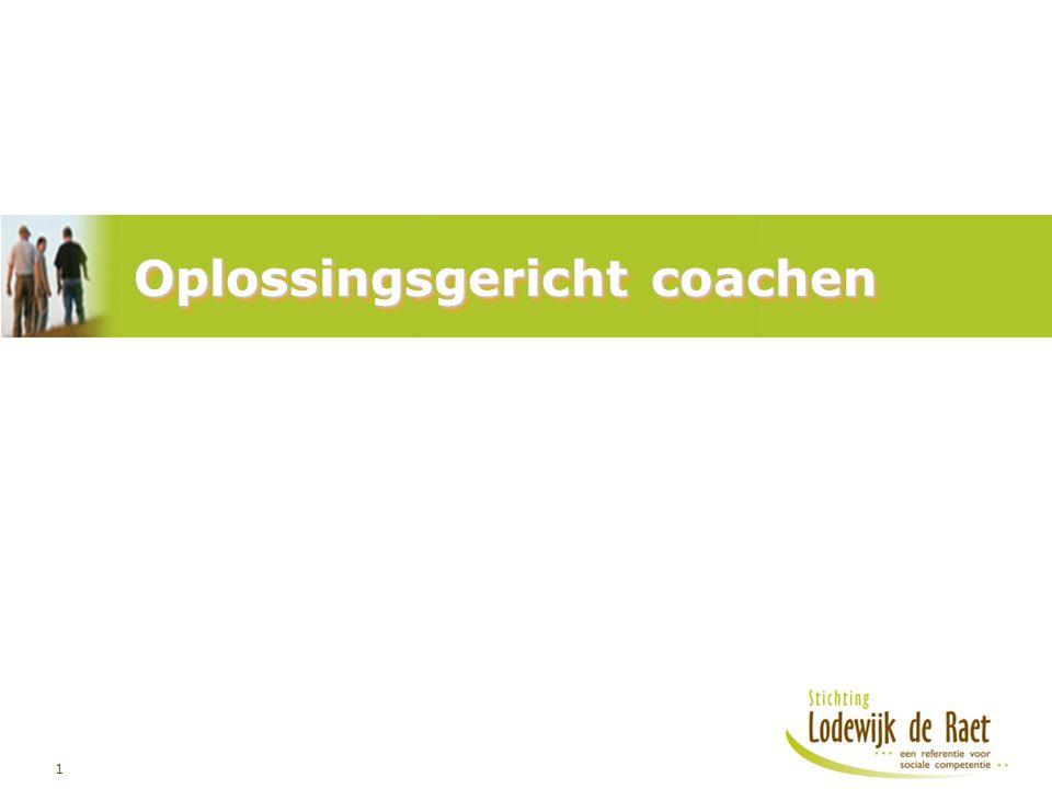1 Oplossingsgericht coachen