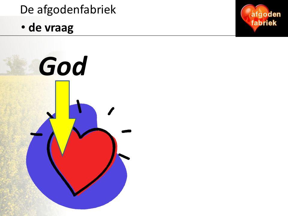 De afgodenfabriek de vraag God