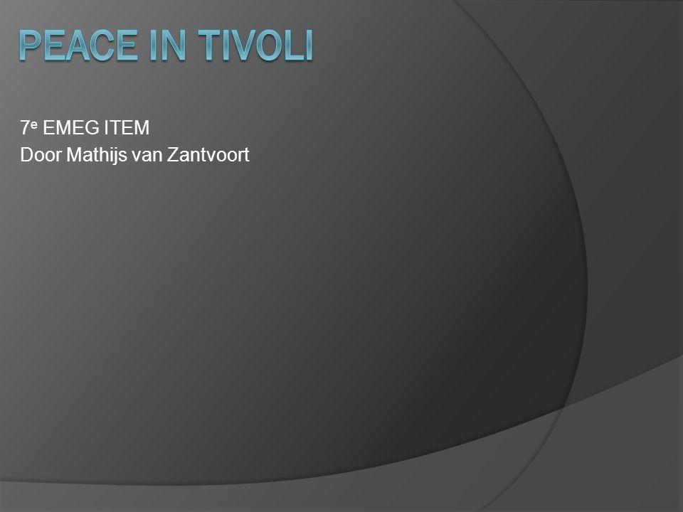 7 e EMEG ITEM Door Mathijs van Zantvoort