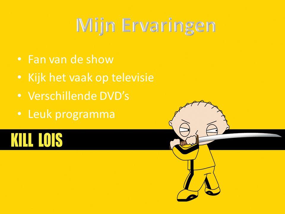 Fan van de show Kijk het vaak op televisie Verschillende DVD's Leuk programma