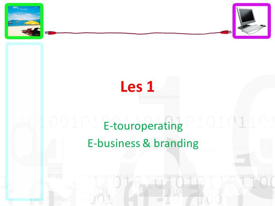 Les 1 E-touroperating E-business & branding