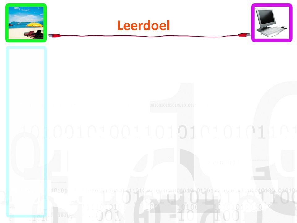 Leerdoel