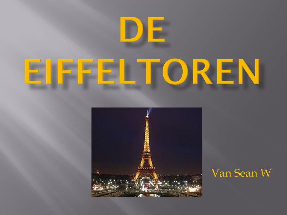  1 Eiffeltoren  2. geschiedenis  3. de constructie  4. einde