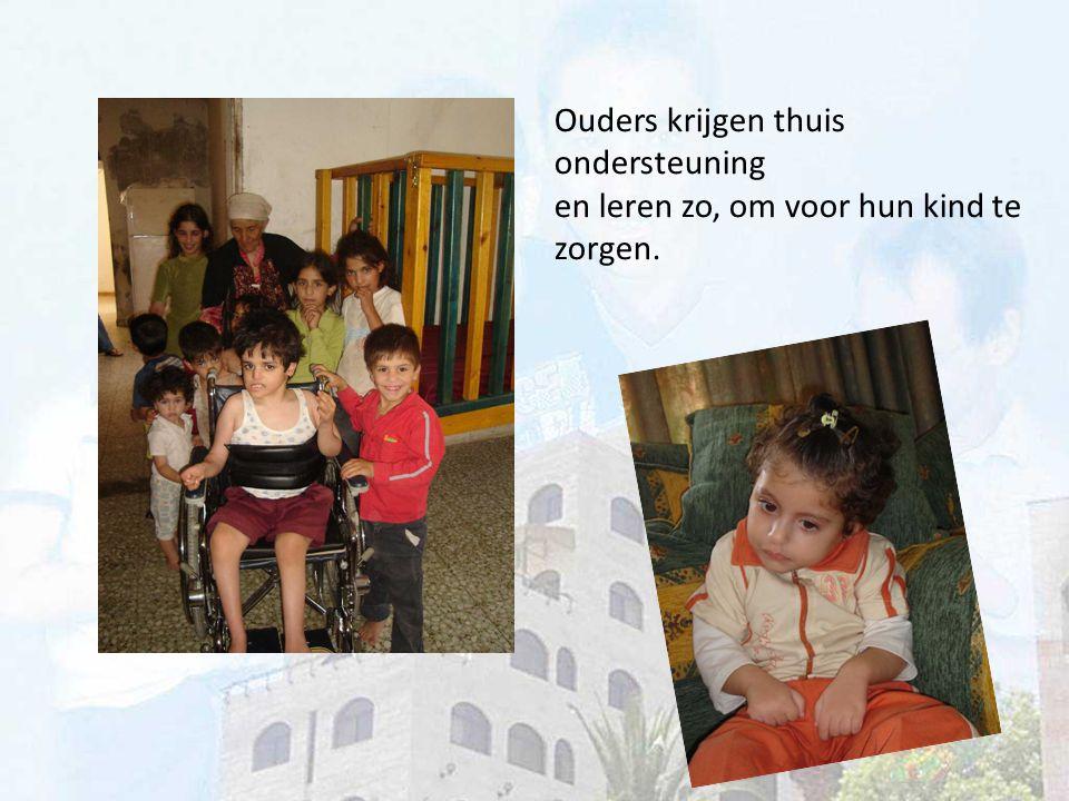 Financiële hulp blijft nodig De Palestijnse overheid staat welwillend tegenover Jemima.