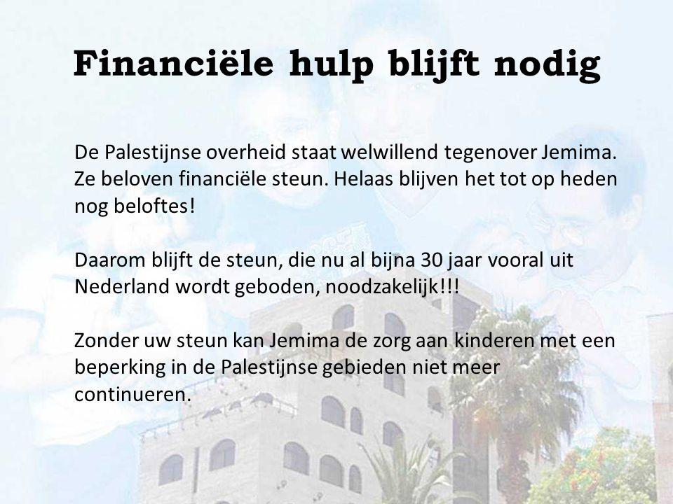 U kunt ons steunen door gebed en uw gift. Hartelijk dank! Meer informatie op www.jemima.nl