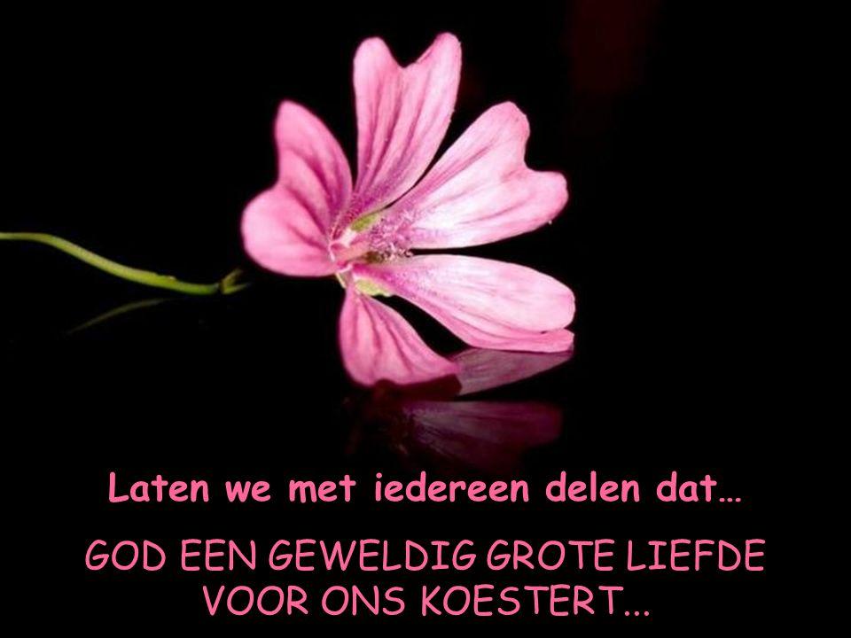 …omdat we het allemaal nodig hebben, te weten dat GOD ALTIJD MET ONS IS!!!