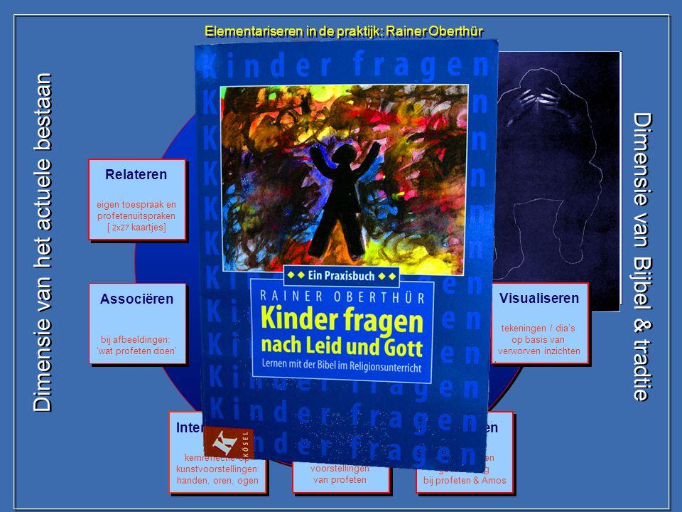 Elementariseren in de praktijk: Rainer Oberthür Thema: Profeten Elementariseren in de praktijk: Rainer Oberthür Thema: Profeten Domeinspecifieke inbre