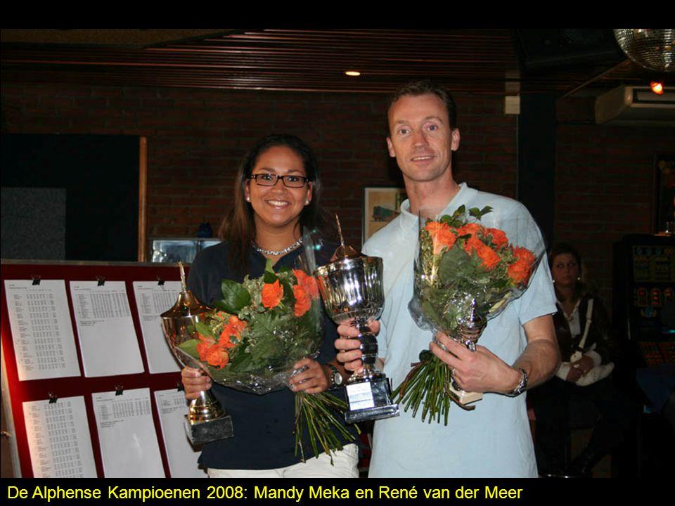 De Alphense Kampioenen 2008: Mandy Meka en René van der Meer