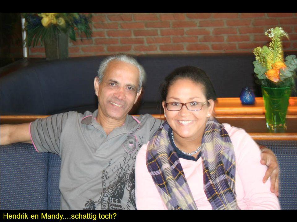 Hendrik en Mandy....schattig toch