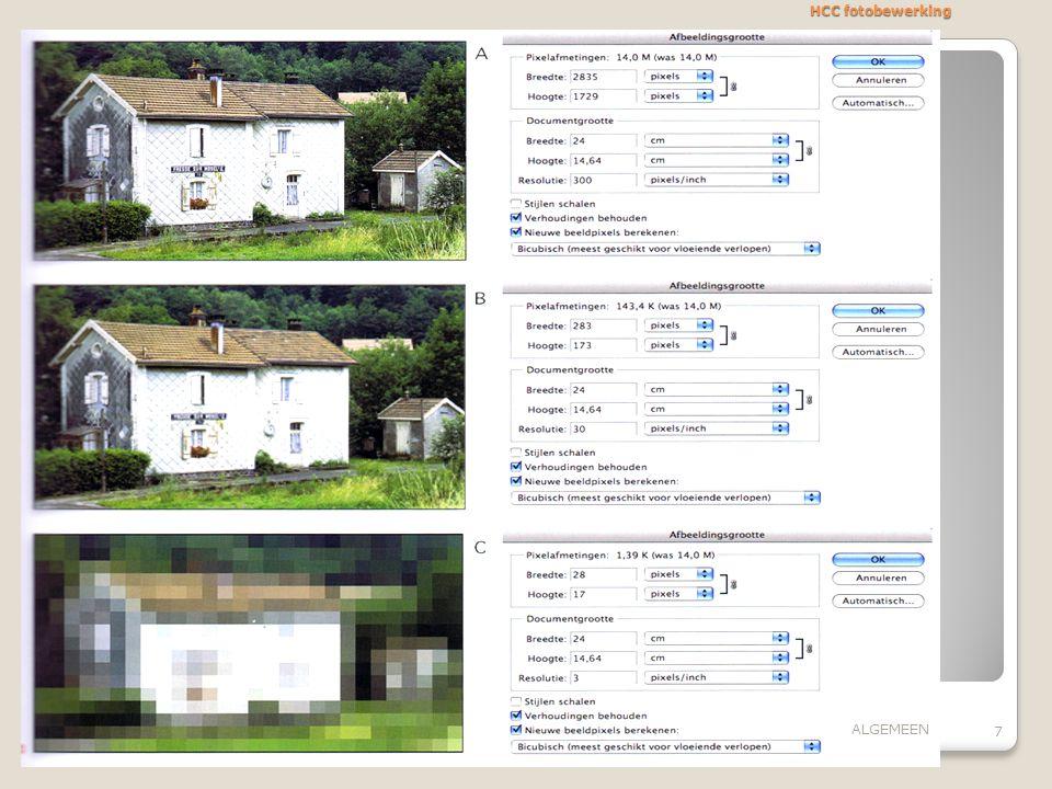 HCC fotobewerking 7 ALGEMEEN