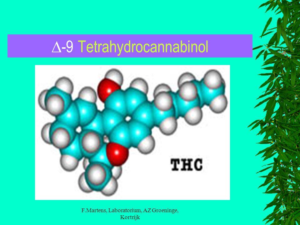F.Martens, Laboratorium, AZ Groeninge, Kortrijk  -9 Tetrahydrocannabinol