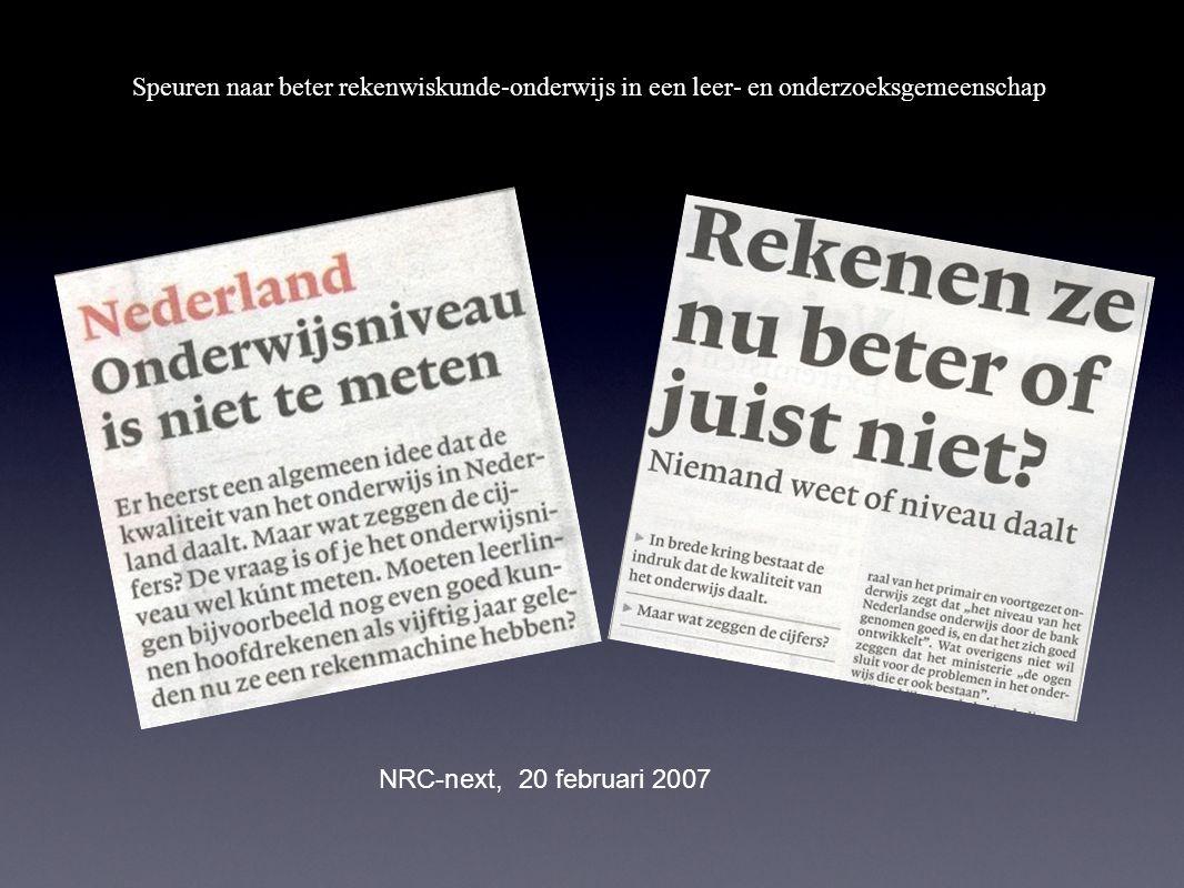 NRC-next, 20 februari 2007