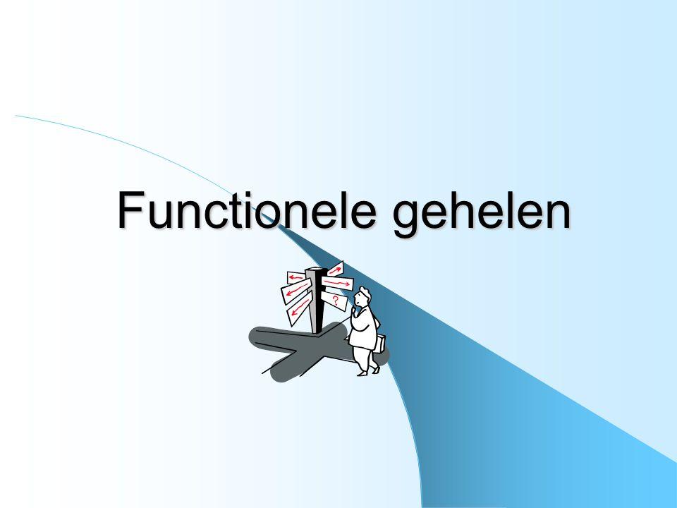 Functionele gehelen