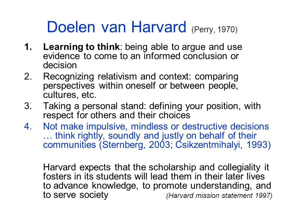 Opbouw Excellentie –in de plannen –Doelstellingen van Harvard+ Leer- en onderwijsconcepties –Data –Model en voorbeelden –Vergelijking model-plannen-criteria In het onderwijs Conclusies Discussie