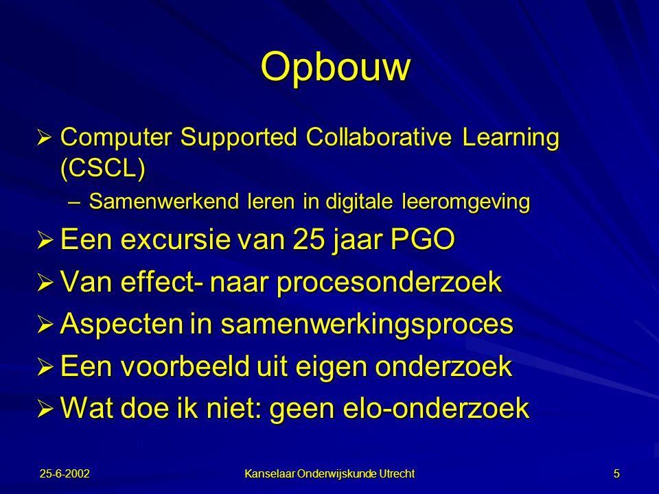 25-6-2002 Kanselaar Onderwijskunde Utrecht 4 Kijken of communiceren.