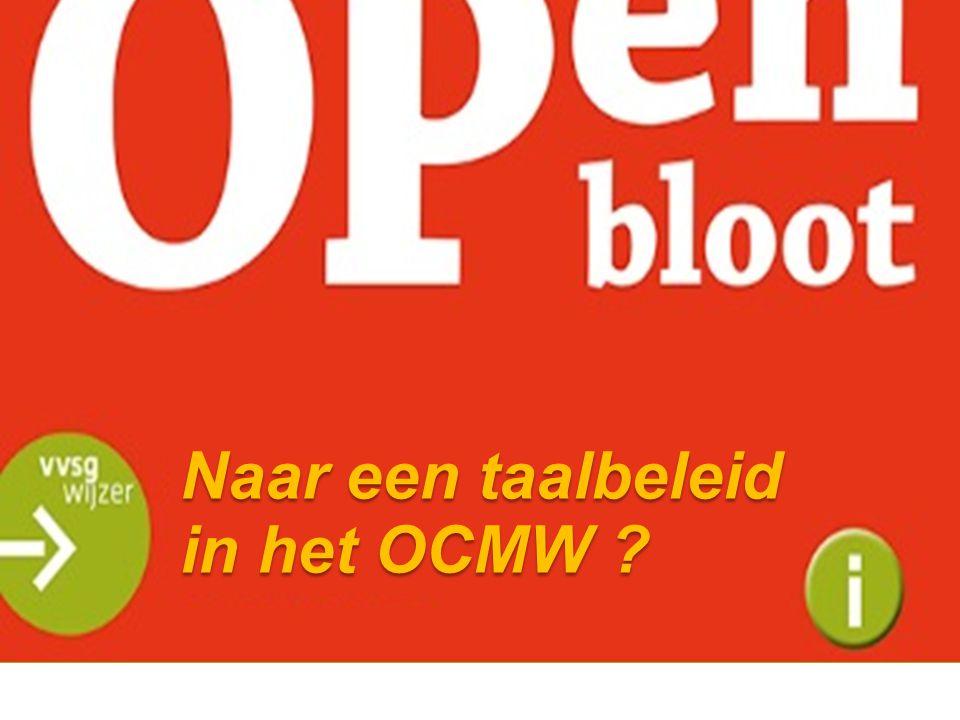 Naar een taalbeleid in het OCMW ?