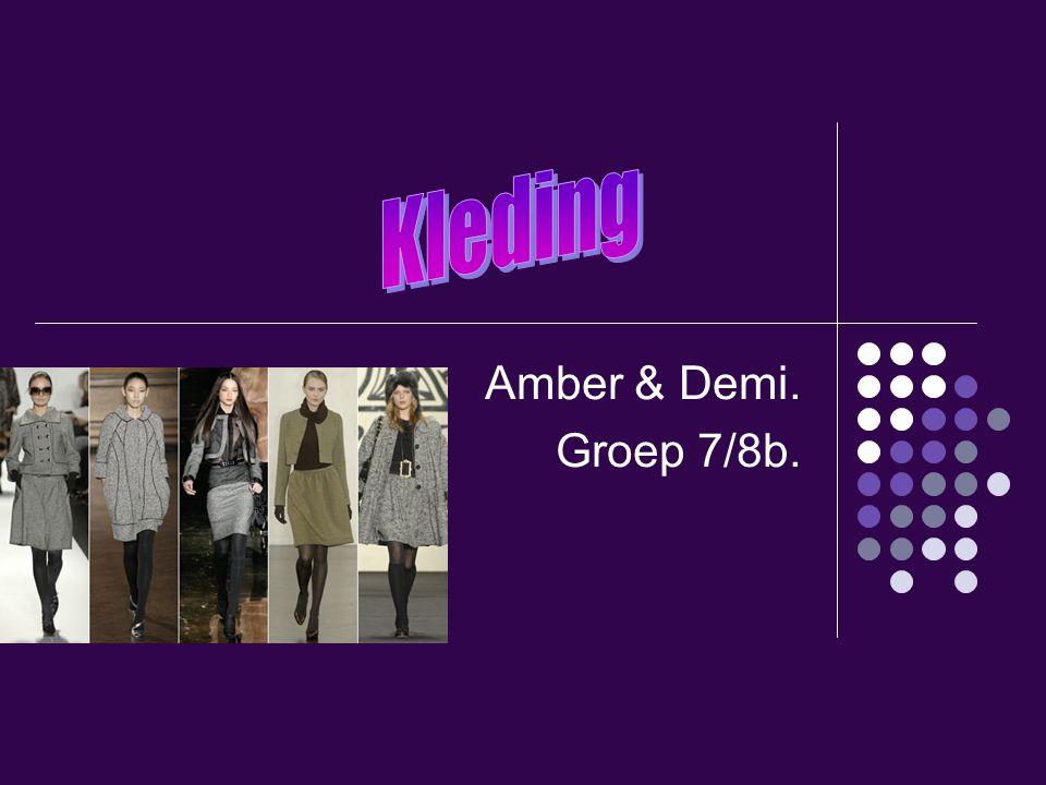 Amber & Demi. Groep 7/8b.